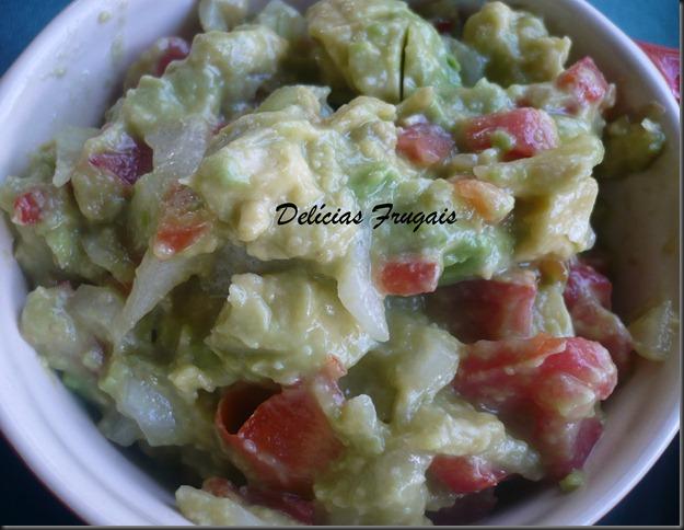 Guacamole com tortillas - Delícias Frugais