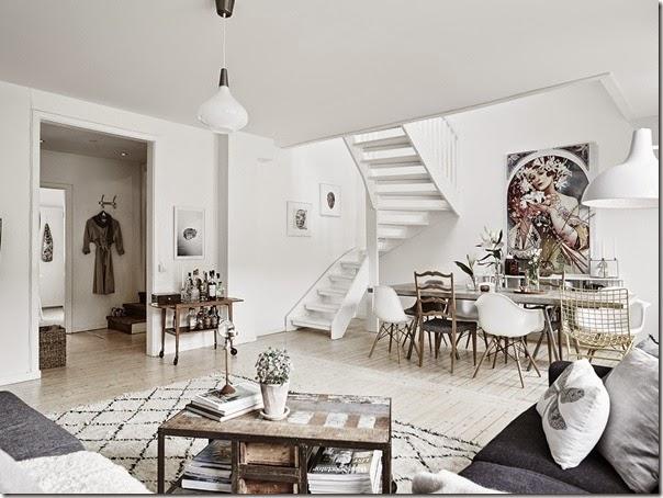 case e interni - stile scandinavo - urban chic - bianco (9)