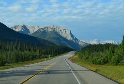 magnificent limestone Rocky Mountains