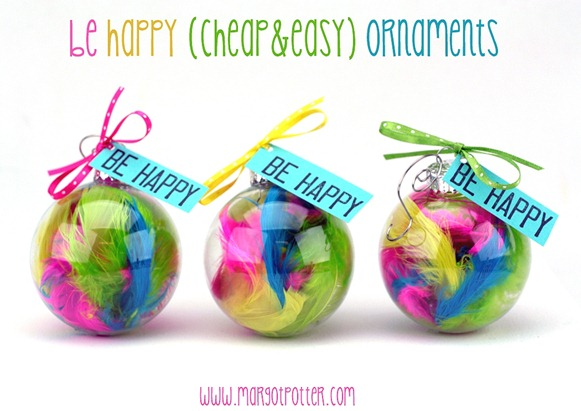 be happy ornaments one