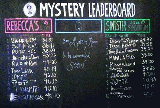Mystery Leaderboard