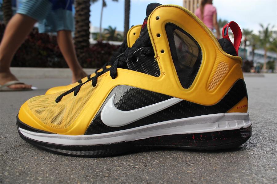 Nike LeBron 9 Varsity Maize Aka 8220Taxi8221 Arriving At Retailers