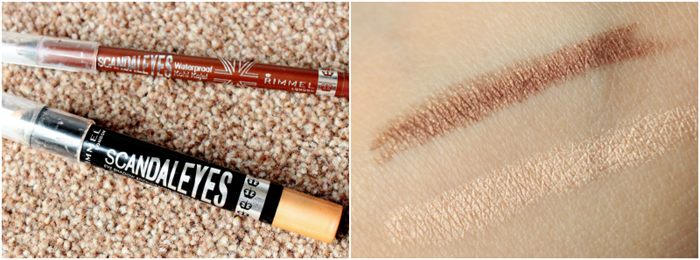 rimmel scandaleyes bronze 012 khol pencil 12 rimmel scandaleyes eyeshadow pencil nude
