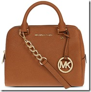 Michael Michael Kors Medium Saffiano Leather Satchel