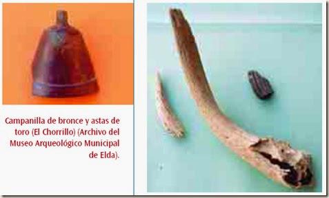 Campanilla y astas de toro - El Chorrillo