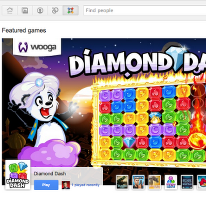 Games Arrive on Google+