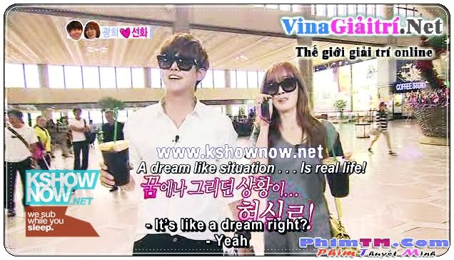 We Got Married Tv Show - We Got Married - Sunhee Couple