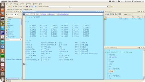 matlab Screenshot 1