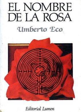 El nombre de la rosa (Portada)