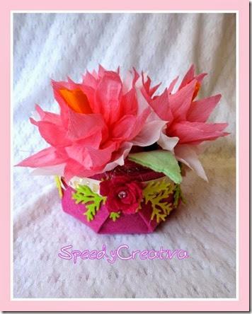 cestini di fiori di carta crespa (15)