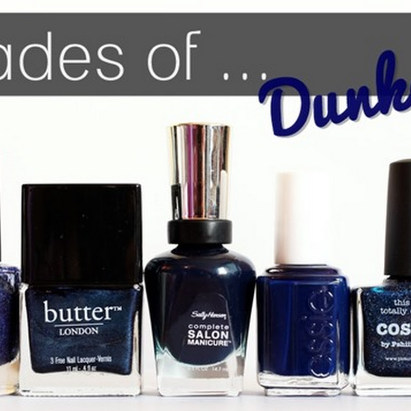 [Blogparade] 7 Shades of … Dunkelblau