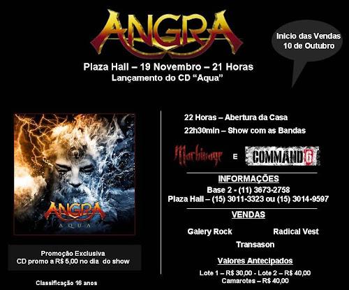 Show Angra e Machinage
