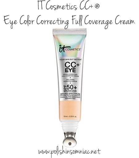 IT Cosmetics CC ® Eye Color Correcting Full Coverage Cream