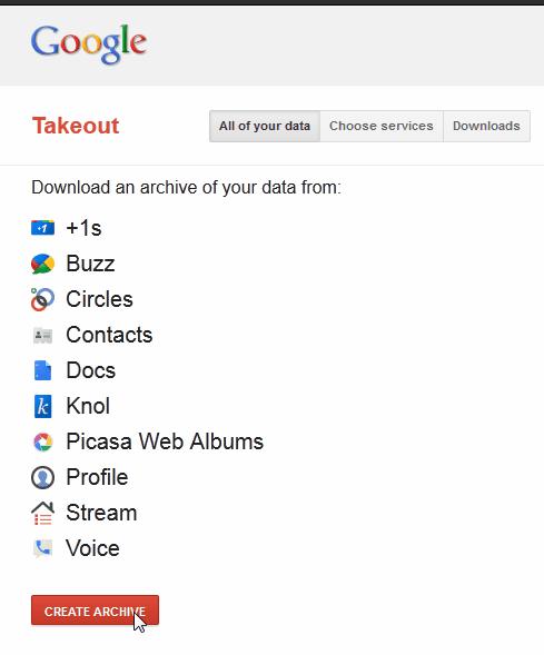 google takeout-01
