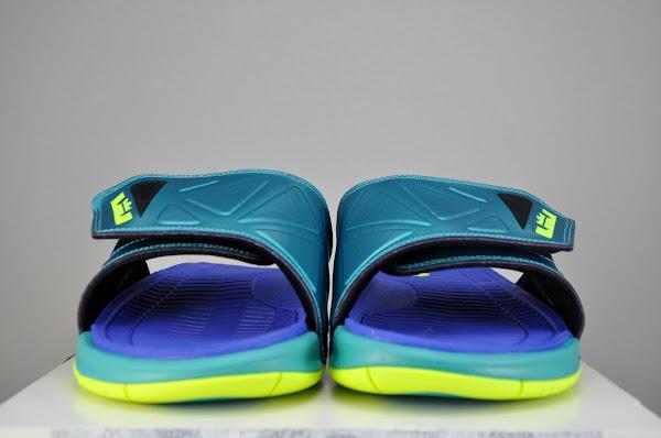 Nike Air LeBron 2 Elite Slide Sport TurquoiseVolt 578251350
