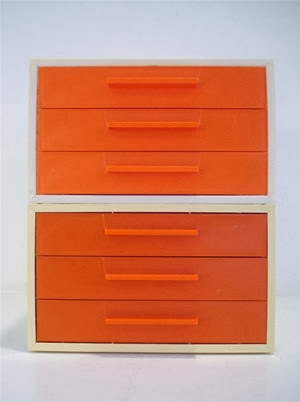 orange face drawers front