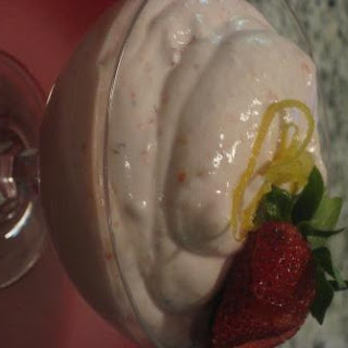 Strawberry Limoncello Fool