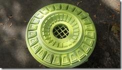 green metallic medallion 3