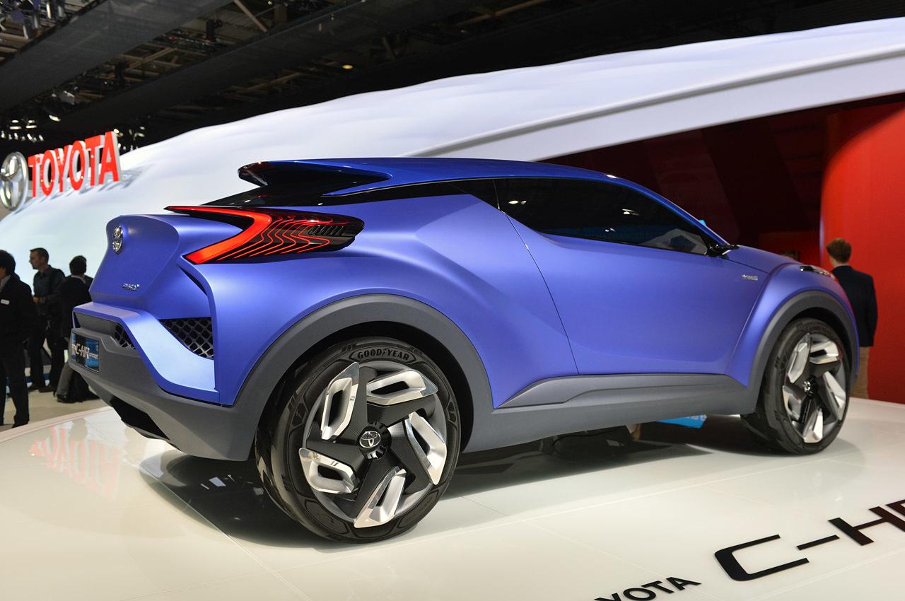 2014 Toyota C-HR Concept Patis'te görücüye çıktı ...
