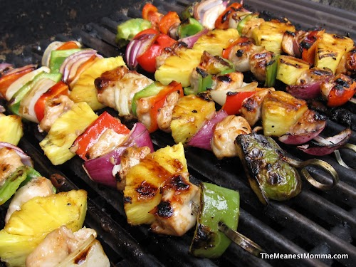 Tutti Fruity Chicken Kabobs (Paleoified)