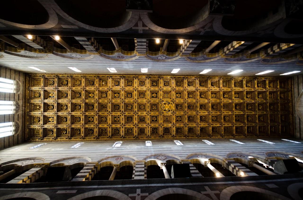Ceiling of Pisa Duomo