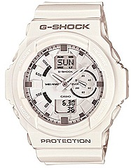 CASIO 2012 G-SHOCK GA-150 watches black white resin shock water resistance 200m WATCHES world time FOR SPRING SUMMER SEASON Casio G-Factory stores authorised dealers