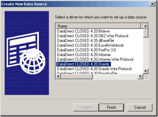 ODBC for Informatica