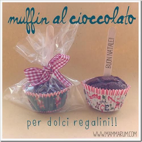 muffin al cioccolato senza burro e uova