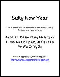 SullyNewYearFont