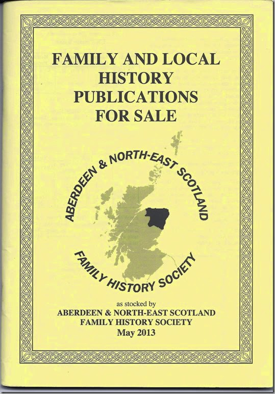 Aberdeen & NE Scotland publication booklet cover