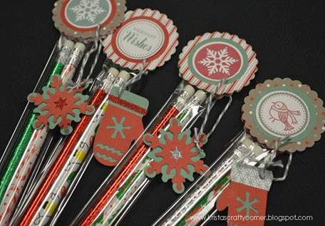 Sparkle and shine_kraft canister_simply inspired blog hop_close up pencils DSC_0628