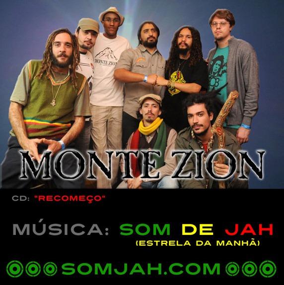 Música Som de Jah (Estrela da Manhã) da banda Monte Zion - CD Recomeço