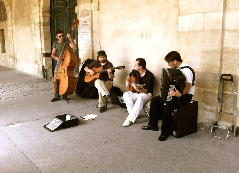 Paris France Place des Vosges Jazz Band Jessica Robinson Life The Epic Journey 2012