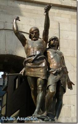 Monumento a Índibil y Mandonio - Lérida