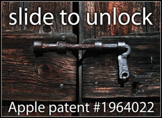 Slide to unlock - funny iphone