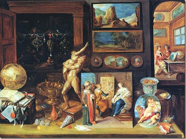 Francken, Cabinet de collection