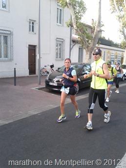 Buzzy et Manu au marathon de Montpellier