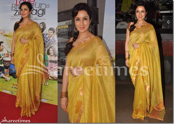 Tisca_Chopra_Saree