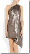 Kaufmanfranco Assymetric Sequined Dress