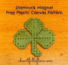 Shamrock Magnet