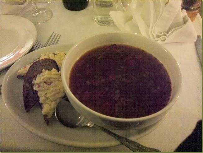 Rasputin Russian starter soup