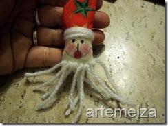 Шить - лицо Санта-Клаус-38