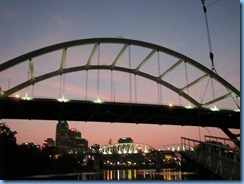 9400 Nashville, Tennessee - General Jackson Showboat Dinner Cruise  - Gateway Bridge downtown Nashville