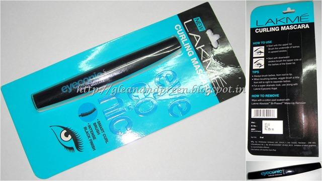 Lakme Eyeconic Mascara - Package