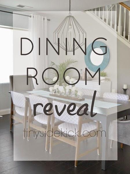 Tiny Sidekick Dining Room Reveal