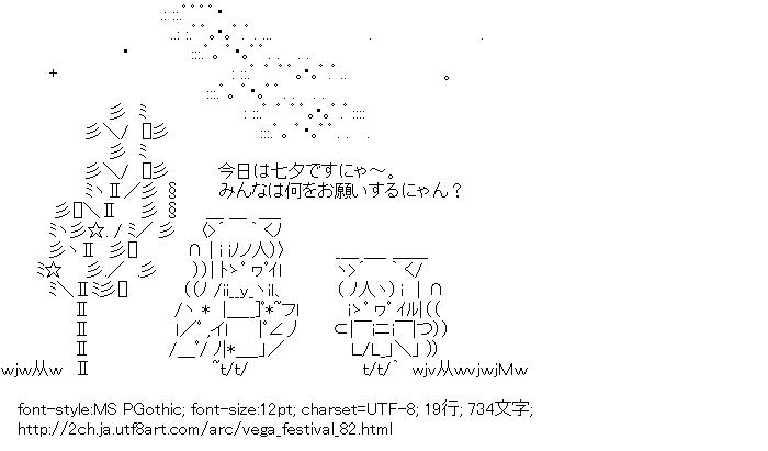 七夕,天の川