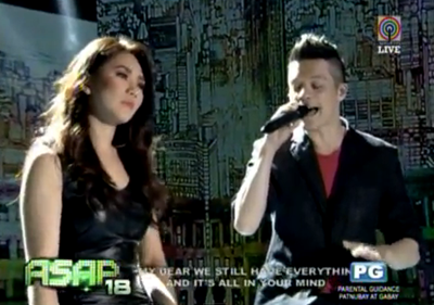 Sarah Geronimo and Bamboo Mañalac