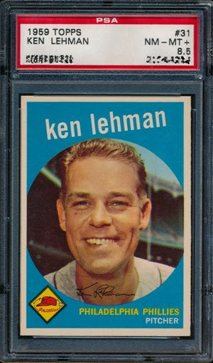 1959 Topps 31 Ken Lehman
