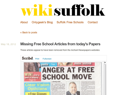 Wikisuffolk