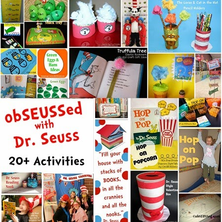obSEUSSed Activities Dr Seuss